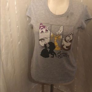 Disney Beauty and the Beast Belle T Shirt Size XL